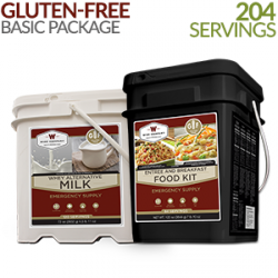 Survival Food and Gear - gluten-free