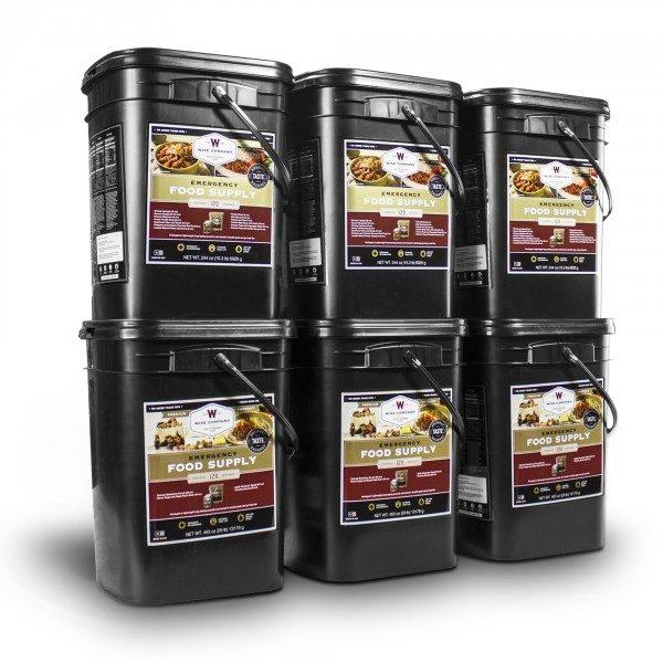 720 meat buckets long term storage food